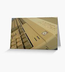 Commodore Amiga Greeting Card