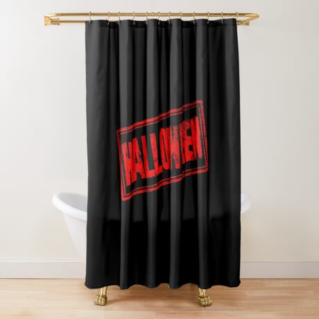 Halloween (Vintage Stamp) Shower Curtain
