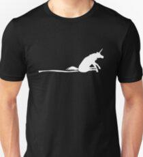 Unicorn Scooting On The Floor Unisex T-Shirt