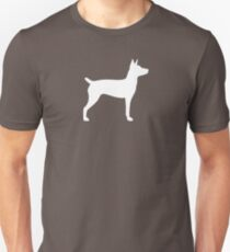Rat Terrier Silhouette(s) T-Shirt