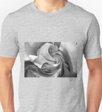 The Heart of a Rose, Black & White T-Shirt