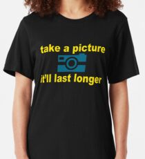 Take A Picture Slim Fit T-Shirt