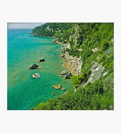 5 ★★★★★ . The beach of Myrtiotissa . Corfu. Greece  -  one of the most beautiful beaches in Europe. by Brown Sugar. F*** Views (637) . Favs (4). Mu ine poli efcharisto ! thanks !!! Photographic Print