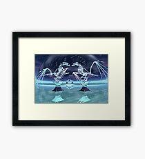 Frozen Fantasy Framed Print