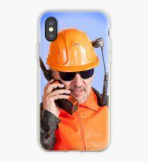Industrial worker. iPhone Case