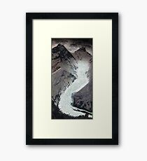 Khumbu icefall Mt. Everest Framed Print