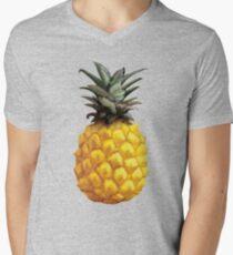 Camiseta para hombre de cuello en v Pineapple Painting