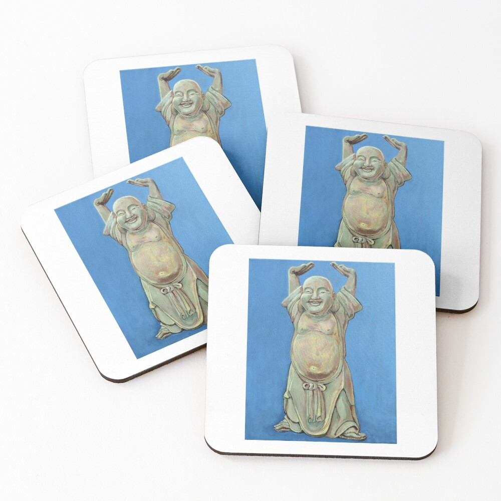 Standing Happy Coasters (Set of 4)