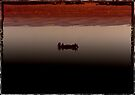 Dawn on the The Ganges in Varanasi, India by Normf