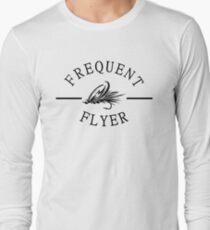 Camiseta de manga larga Pesca con mosca frecuente del aviador