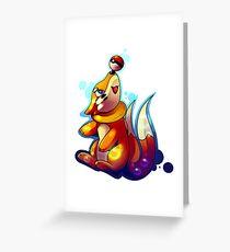 D`aww Buizel Greeting Card