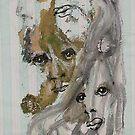 Faces, Bernard Lacoque-55 by ArtLacoque
