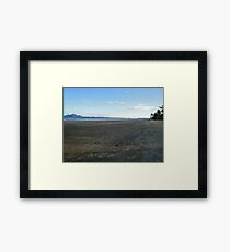 Mission Beach with Crab Balls and Dunk Island  Framed Print