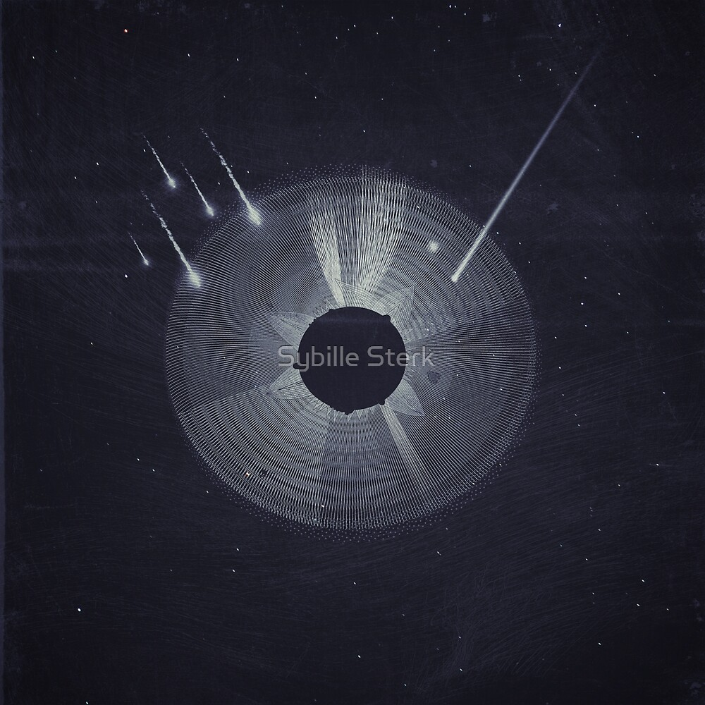 Vintage Cosmos: Black Hole by Sybille Sterk