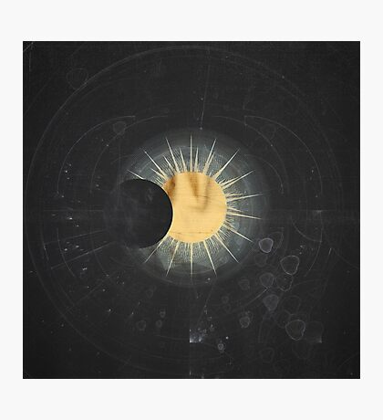 Vintage Cosmos: Eclipse Photographic Print