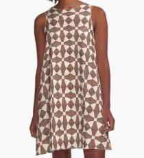 Bisque Blanket A-Line Dress