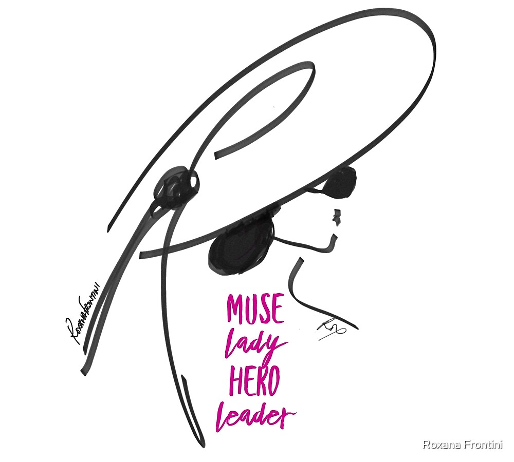 HERO MUSE (Pink) by Roxana Frontini