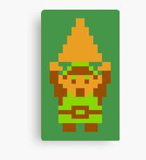 Legend of Zelda: Triforce of Courage Canvas Print