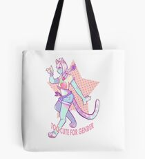 Too Cute For Gender Tote Bag