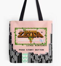 Legende von Zelda: Startbildschirm Tote Bag