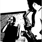 Cris And Sax by Chet  King