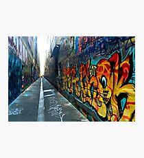 colorful graffiti Photographic Print