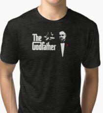 Padrino The Godfather Tri-blend T-Shirt
