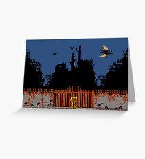 Castlevania - Dracula's Castle Greeting Card