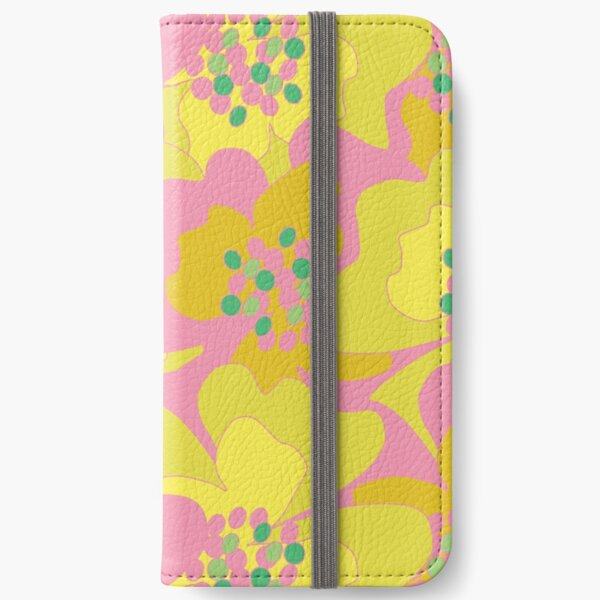 Lovers Passion Flowers 2 iPhone Wallet