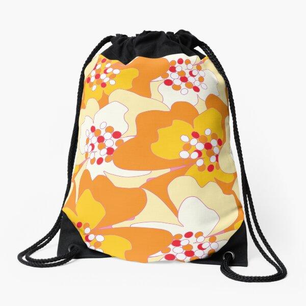 Summer Flowers Delight 2 Drawstring Bag