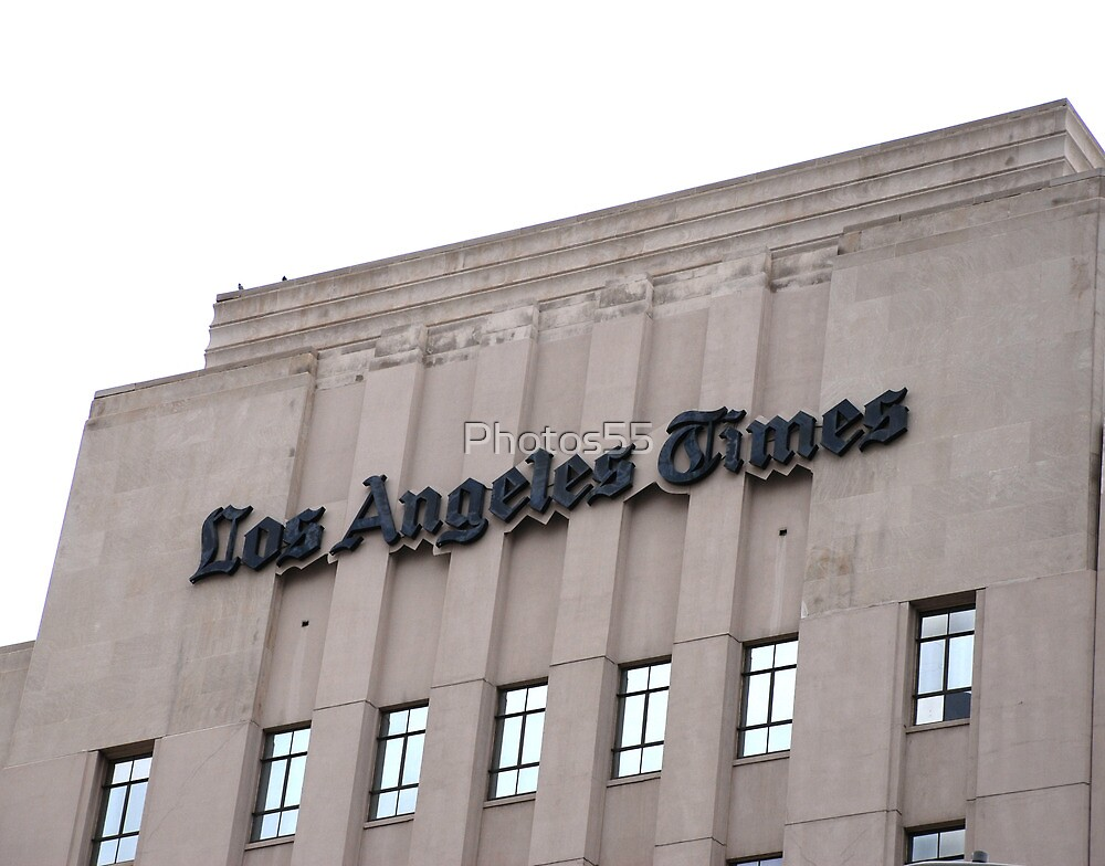 """The """"Old L.A. Times"""" Building by Photos55"""