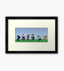 Turnabout Crossing- Trilogy Version Framed Print