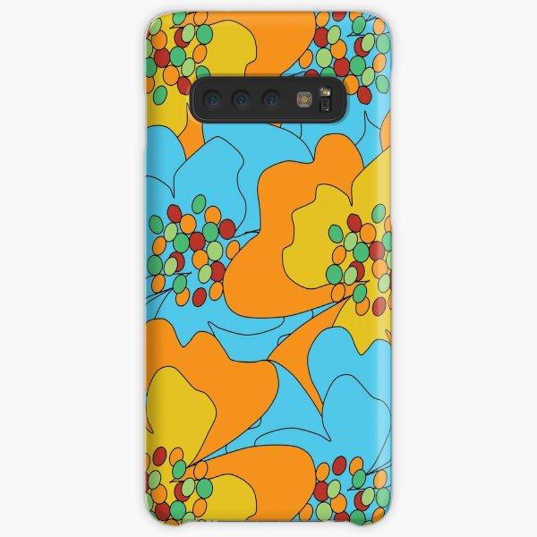 Summer Flowers Delight 1 Samsung Galaxy Snap Case