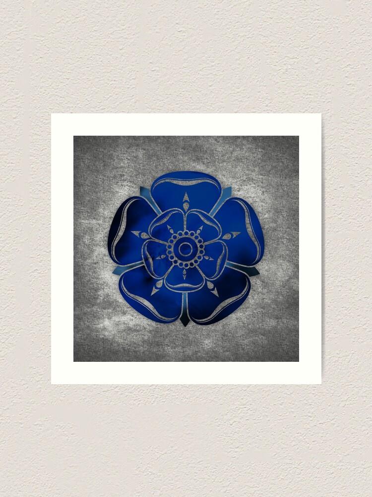Alternate view of Blue Rose Art Print