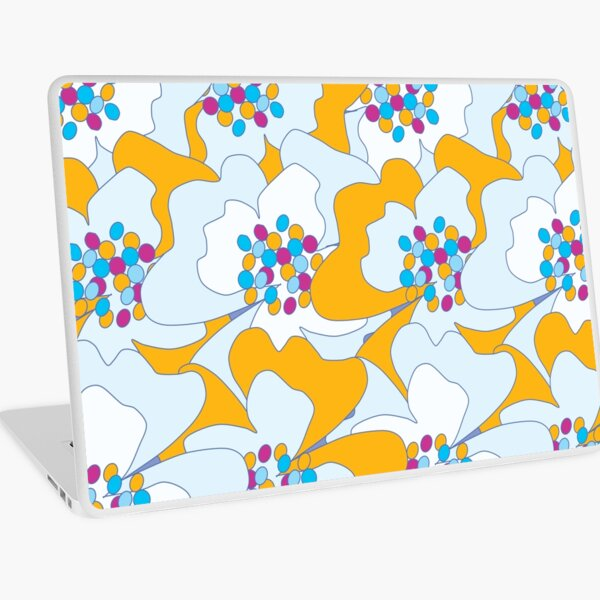 Late Spring Passion Flowers 2 Laptop Skin