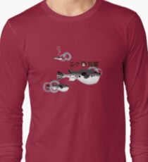 Fugu under the water Long Sleeve T-Shirt