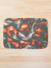 Coral Liquid Bath Mat