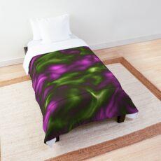 Violet Green Liquid Comforter