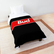 Bud Name Label - Gift For Male Named Bud Comforter