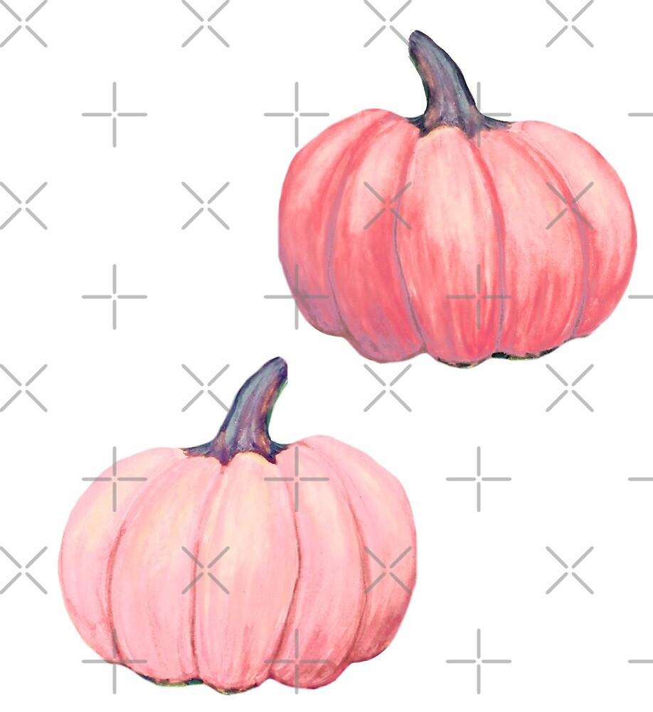 Pink pumpkin by MagentaRose