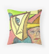 projection Throw Pillow