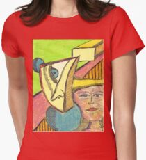 projection Women's Fitted T-Shirt