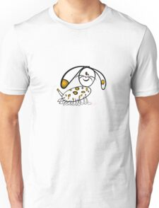 Spotty Puppy running T-Shirt