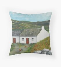 Mourne Cottage Throw Pillow