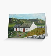 Mourne Cottage Greeting Card