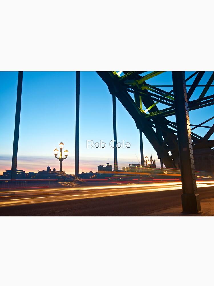 Tyne Bridge Light Trails, Newcastle by robcole