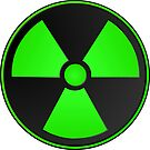 Green Radioactive Symbol Science by AMagicalJourney