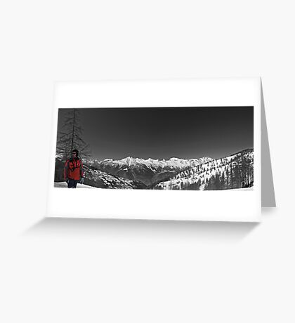 Ski Patrol Greeting Card