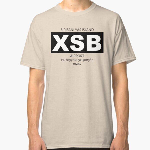 Sir Bani Yas Island Airport XSB Classic T-Shirt