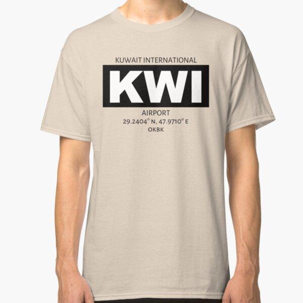 Kuwait International Airport KWI Classic T-Shirt